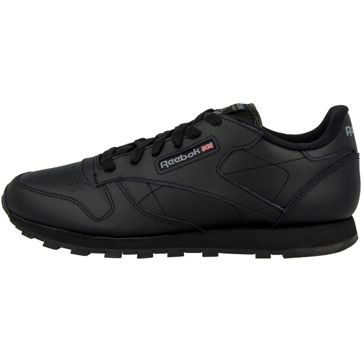 Reebok Reebok Reebok Cuero Clásico Gs Zapatos Mujeres Ocio Deporte Zapatillas Deportivas 50149  garantía de crédito