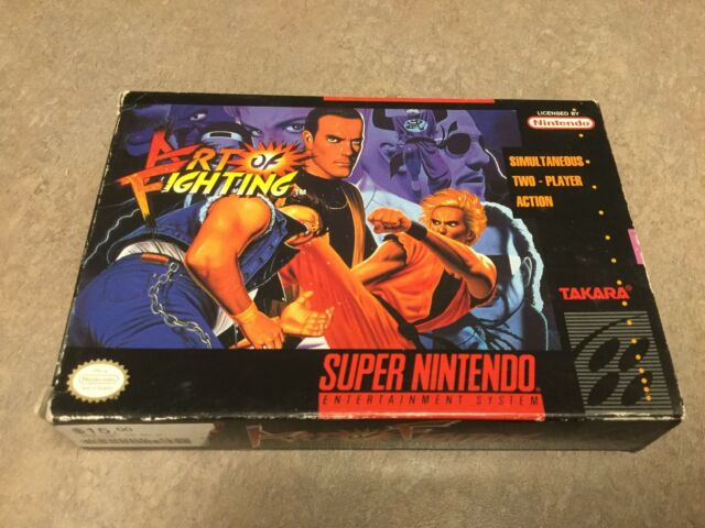 Art Of Fighting Super Nintendo Entertainment System 1993 For Sale Online Ebay