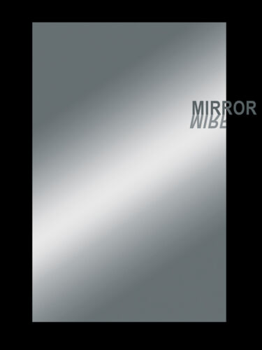 Pickguard Rohling mirror verchromt  2 lagig verspiegelt 22,5 x 29 cm
