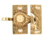 Oriental Decorative Brass Window Lock