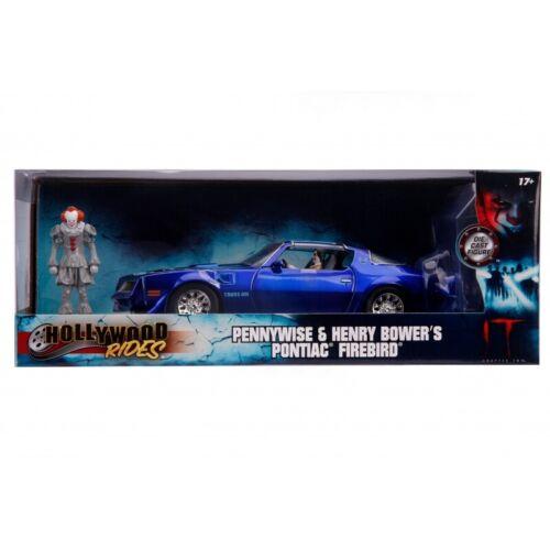 IT 1:24 Henry BOWERS Pontiac Firebird e Pennywise Figura pre ordine NAVE 12 DEC