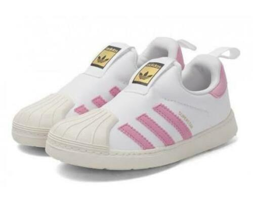 shoes Slip On EU 25 adidas Originals Superstar Infant Girls Trainers UK 7.5