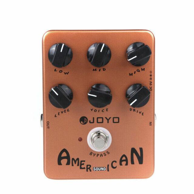 JOYO JF-14 - American Sound - Guitar Amp Simulator Pedal - Jam Music Instruments