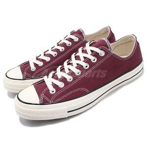 e41dd23e88b1af Converse Chuck Taylor All Star 1970s OX Red Canvas Men Casual Shoes ...