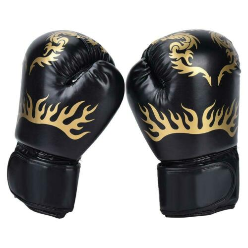 PU Leather MMA Muay Fighting Punching Gloves Sparring Boxing Training Mitts Hot