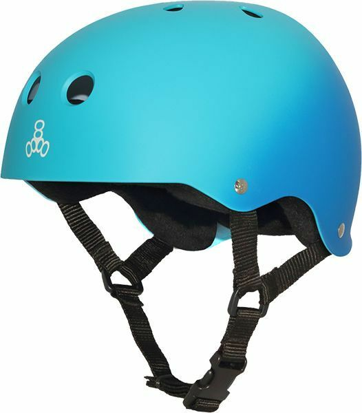 Triple  8 Helmet Fade Rubber bluee Turq  M  up to 42% off