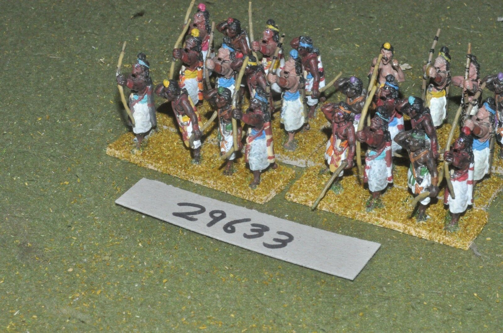 25mm medieval   indian - archers 24 figures - inf (29633)