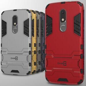 For Lenovo Motorola Moto M Case Hard Kickstand Protective Phone Cover Ebay
