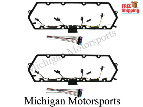 97-03 Ford 7.3 Powerstroke Valve Cover Gasket Fuel Injector Glow Plug Harness L
