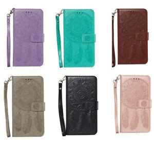 Case for iPhone 11 12 Pro 7 8 Dreamcatcher Pattern Flip Wallet Case Phone Cover