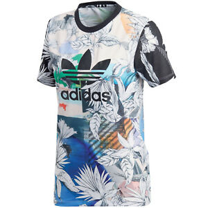 Details about Adidas Originals the Farm Company Tee T Shirt Women's Top Top
