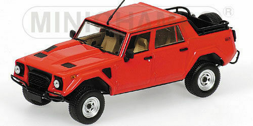 LAMBORGHINI LM002 - 1984 - RED 436103372 Minichamps 1 43