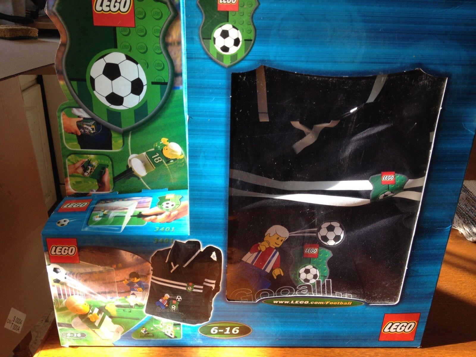 lego City 3401 Sets Exclusif  Avec Sac a dos dos dos Foot NEUF 1 édition | Prix Très Raisonnable  ae0790