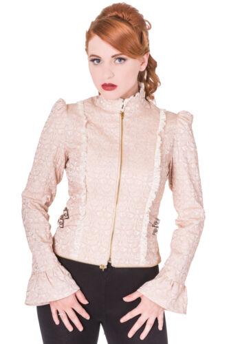 of Vêtements de Dawn' gothique la veste 'rise beige gothique bannis steampunk victorienne rvrwqOP5