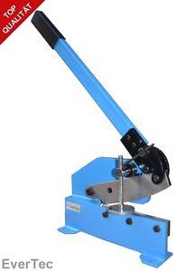 Handhebelschere-HS8-200mm-Hebelschere-Blechschere-Schlagschere-Blech-Metall