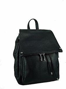 ZAINO-donna-in-vera-pelle-made-in-italy-vitello-nero-nuovo-bag-leather
