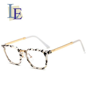 095c006b68 Image is loading LE-Prescription-Eyewear-Optical-Square-Frames-vintage -Myopia-