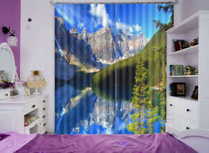 Blue-Sky-Green-Tree-3D-Curtain-Blockout-Photo-Print-Curtains-Drape-Fabric-Window