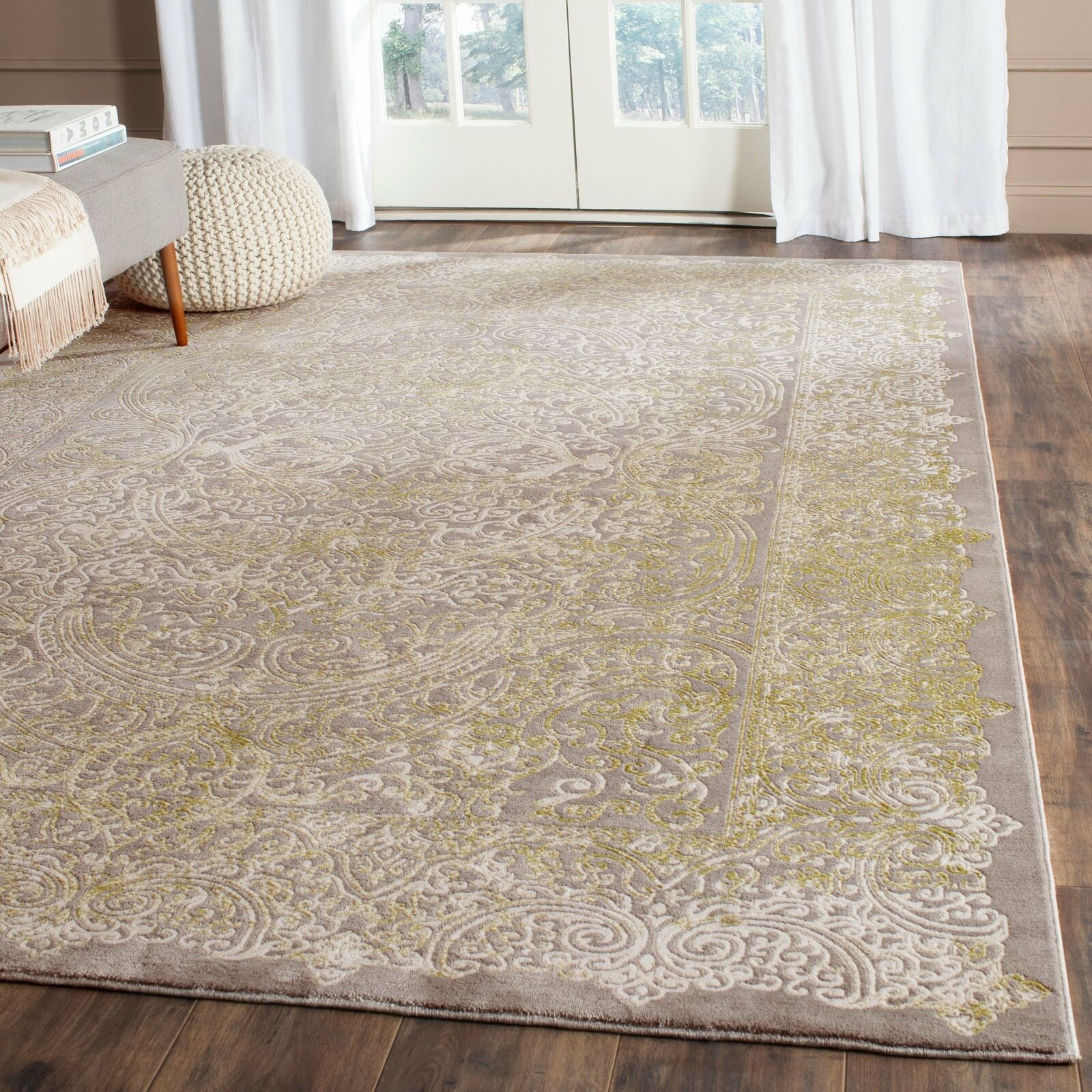 Safavieh Passion Grey Traditional Rug 8 X 11 For Sale Online Ebay
