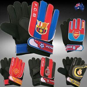 Child-Football-Soccer-Goalkeeper-Gloves-FCB-Real-Madrid-Arsenal-AC-MUFC-OGLOV61