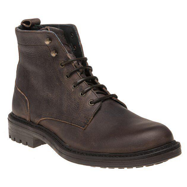 New Mens SOLE braun braun braun Tyssen Leather Stiefel Chukka Lace Up 196911