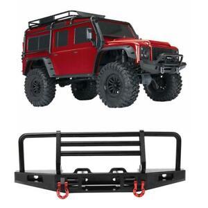 Metal-RC-Front-parachoques-bumper-for-scx10-trx4-1-10-RC-Crawler-auto