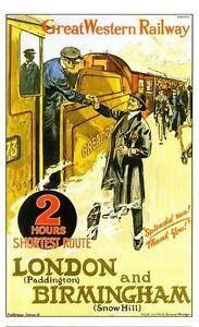 Harwich Railway Vintage Retro Oldschool Old Good Price Poster