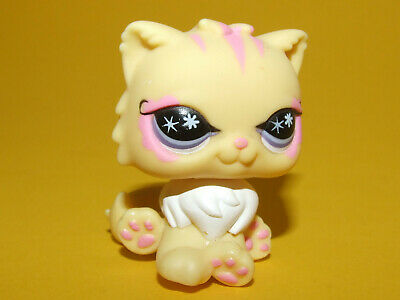 PERSIAN CAT #878 Authentic Littlest Pet Shop Hasbro LPS