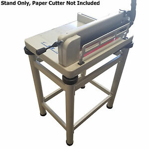 "HFS Paper Cutter Table Stand - For 17"" Guillotine Paper Cutter"