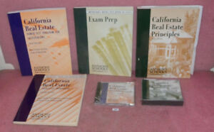 Details about Anthony Schools California Real Estate Book And Audio Book  Lot