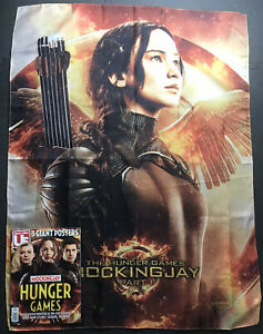 The Hunger Games Mockingjay Part 1 30x40 Movie Poster Banner Flag Ltd Ed Mag 700254827865 Ebay