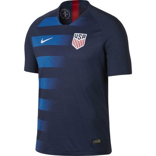Mens Sz M Nike 893903 410 USA Vaporknit Match 18/19 Away Soccer Jersey