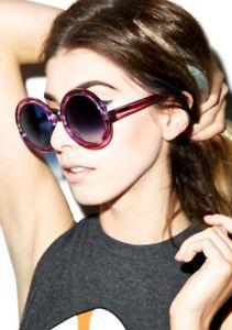 05cbf38a7d Image is loading SOLD-OUT-178-Wildfox-Malibu-Sunglasses-Oversized-Purple-
