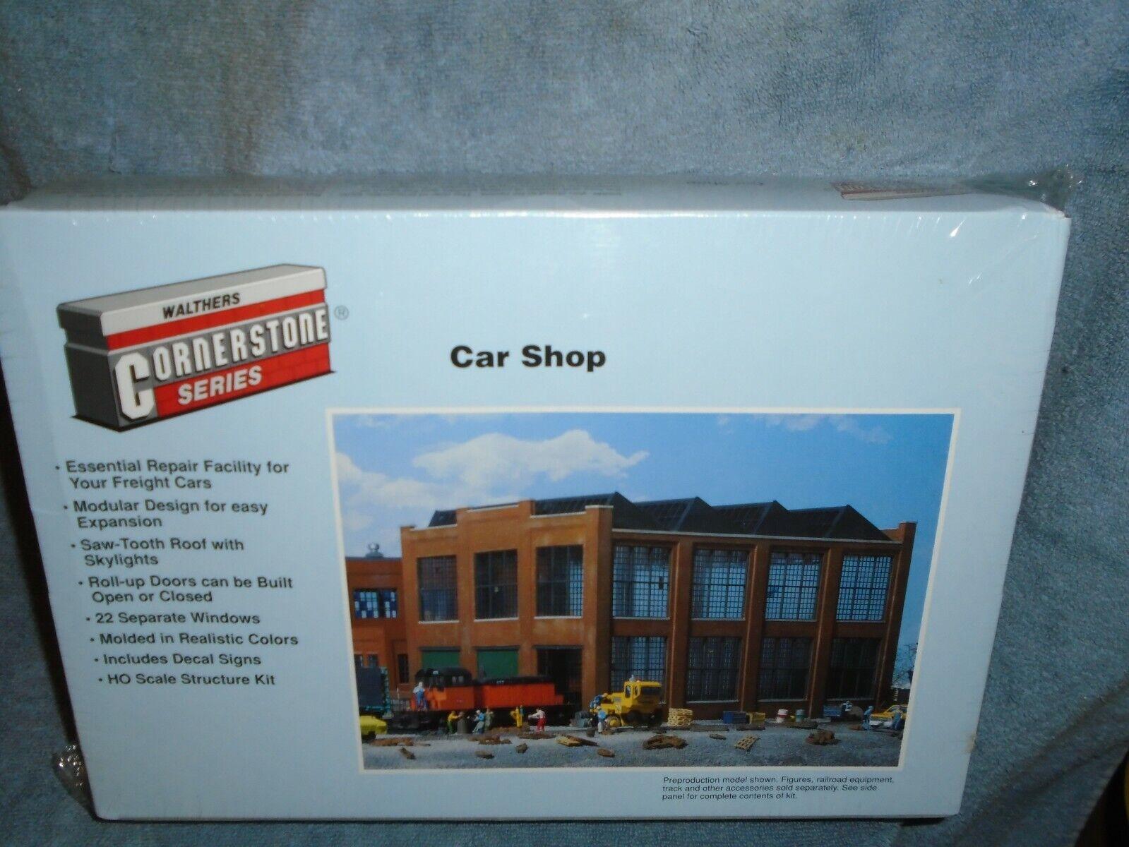 WALTHERS CORNERSTONE SERIES HO SCALE  9333040 auto negozio