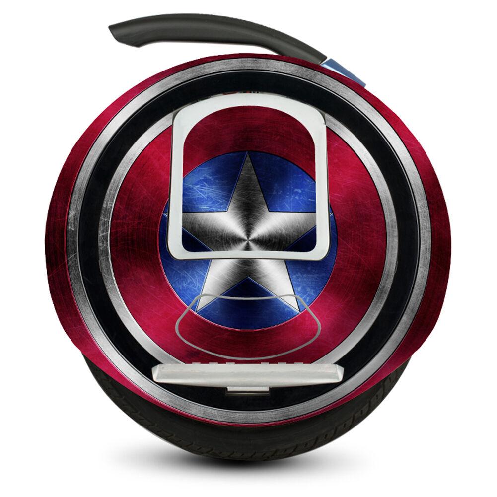 POP Pelle Decalcouomoia Adesivi per NineBot uno e E  pro avengers scudo di Capitan America