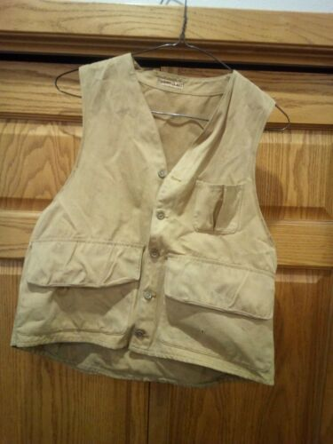 VINTAGE 1940S 50'S Hunting Vest JACKET BY SPORTCL… - image 1