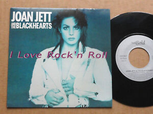 DISQUE-45T-DE-JOAN-JETT-AND-THE-BLACKHEARTS-034-I-LOVE-ROCK-039-N-ROLL-034