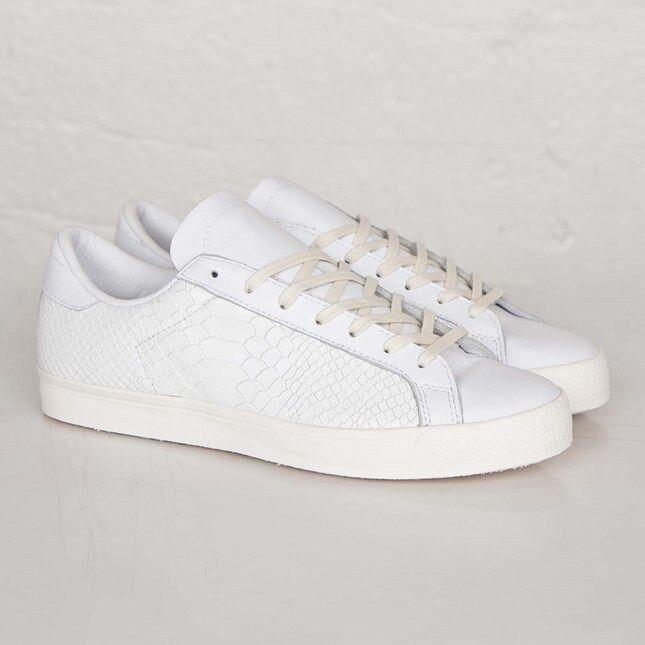 Adidas Rod Men Laver Vintage B33984 White Men Rod Size US 10 NEW 100% Authentic ec0cd2