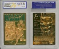 1997 Joe Namath Ny Jets 23k Gold Card - Gem-mint 10 Lot Of 5