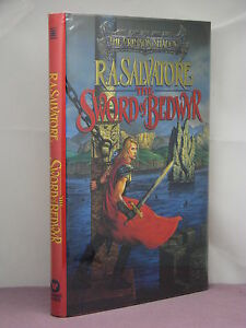1st, signed by the author, Sword of Bedwyr by R. A. Salvatore (1995)