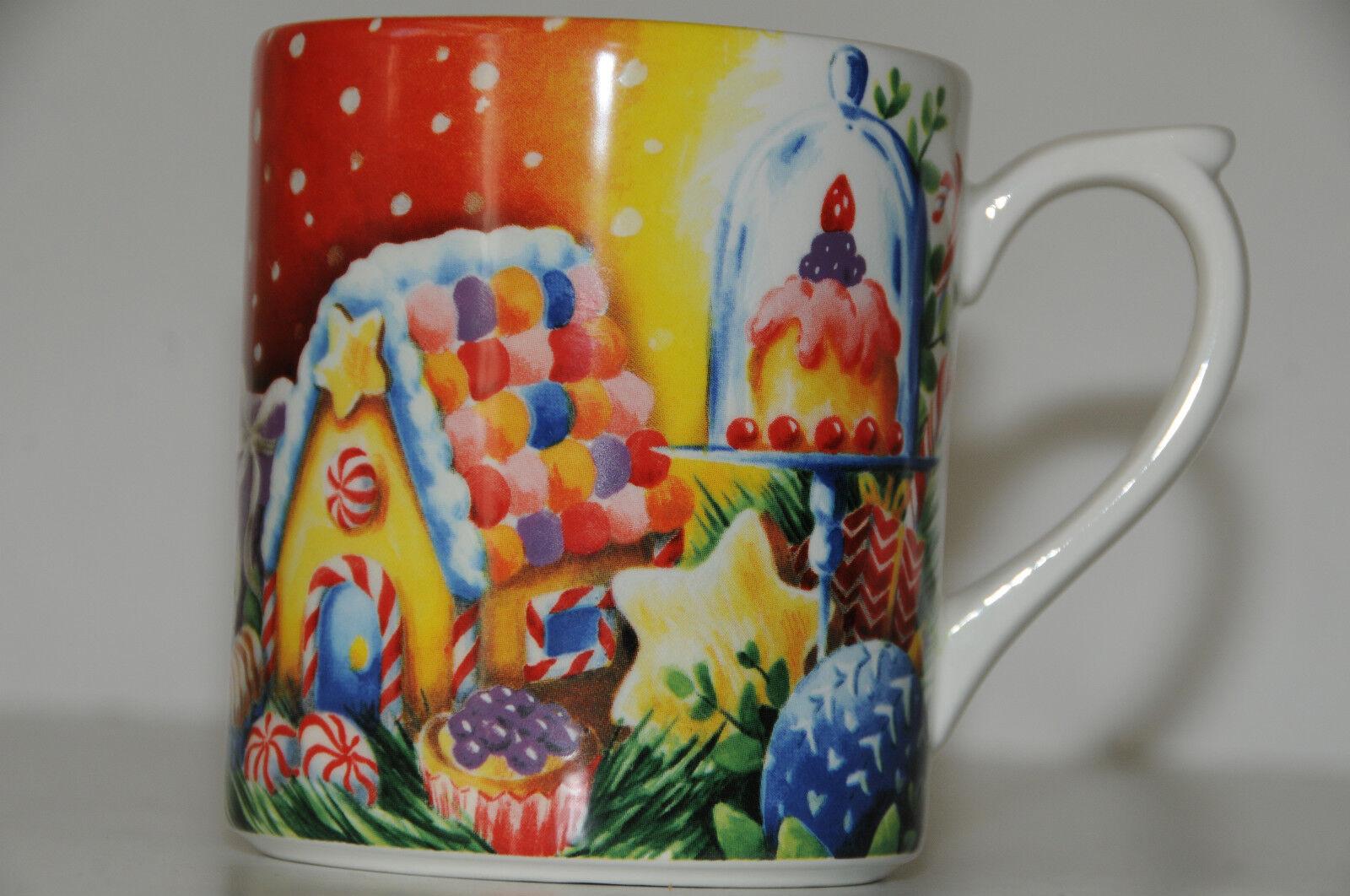 nouveau gien france christmas 2010 collectible mug