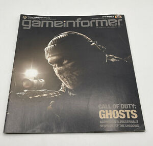Game Informer Video Game Magazine Back Issue Oct 2013 #246 Call Of Duty Ghosts
