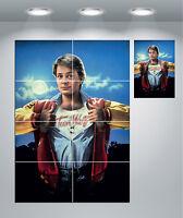 Teen Wolf Michael J Fox Classic Movie Giant Wall Art Poster Print