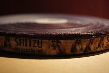 Webband Borte 1612 Shitzu 15mm Breite Eigenproduktion Ripsband