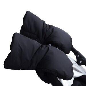 Pram-Cochecito-Mitones-Guantes-de-invierno-calida-mano-Muff-Impermeable-Cochecito-Guante-UK