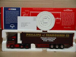 Corgi Cc12012 - Homme F2000 Curtainside Phillips (seahouses) Ltd