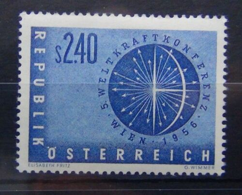 Austria 1956 Fifth World Power Conference Vienna MM