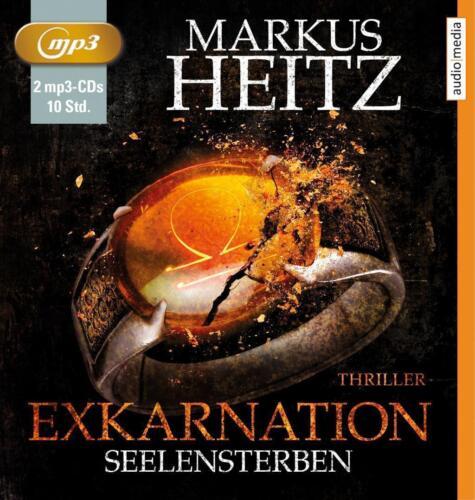 """1 von 1 - """"Exkarnation - Seelensterben"""" Hörbuch  von Markus Heitz (2015), 2 MP3 CD s"""