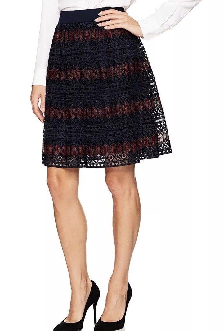 Trina Turk  Lace A-line Skirt Size 8  288