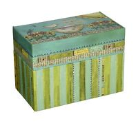 Lang Artisan Recipe Card Box With Recipe Cards Color My World Free Shipping